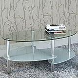 vidaXL Tisch Design Exklusives 3 Etagen Weiß 1