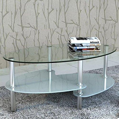 Tidyard Mesa de Centro con Diseño Exclusivo de 3 Niveles Mesa de ...