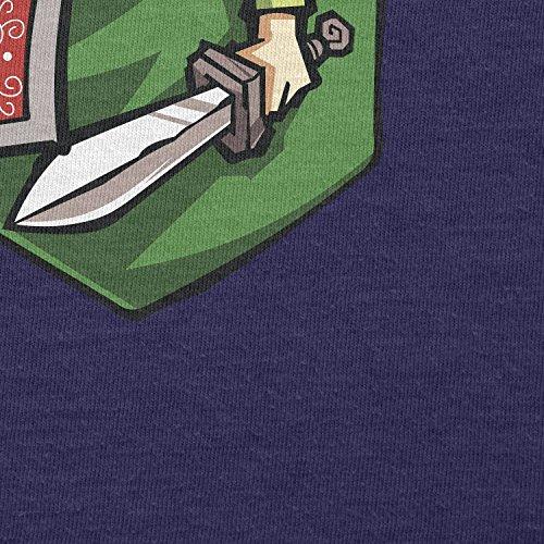 TEXLAB - Link in a Pocket - Herren T-Shirt Navy