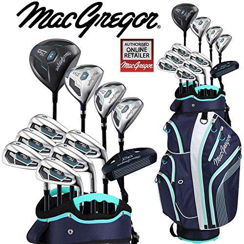 Macgregor DCT Premium DeLuxe Damen Golf Komplett New