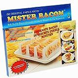 CrazyGadget® Mister Bacon Mikrowellen-Ständer zur Zubereitung von Frühstücksspeck Bacon-Salz das ultimative Gewürzsalz-bacon-salz-61Pc1cOiKJL