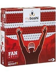 Noris Spiele 606311346 - My Boshi, Fan Mütze in den Vereinsfarben  rot-weiß