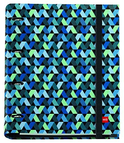 miquelrius-20767-ringbuch-ordner-mit-notizblock-origami-design