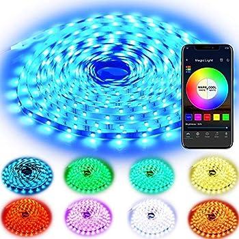 YIHONG Alexa LED Strips Lights, WiFi Wireless Smart Phone Controlled