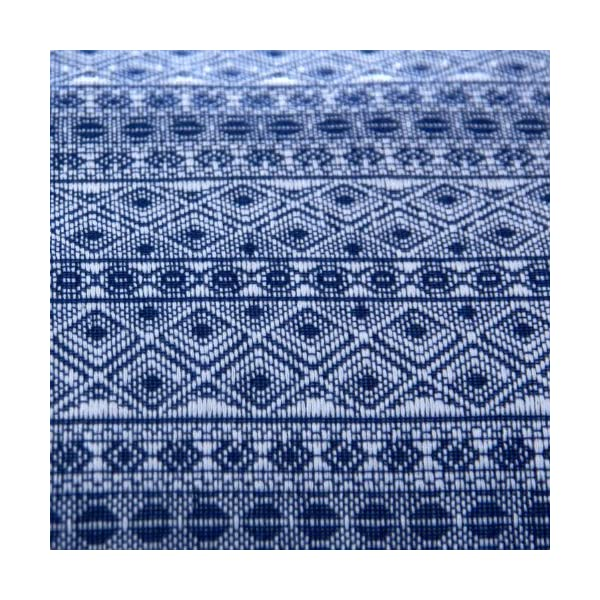Didymos Indio Baby Wrap Sling (Size 4, Dark Blue/White) Didymos Various carrying positions, in front, sideways an on the back Special, diagonally stretchable cloth to give optimal support Holds your baby in the atomically correct posture 5