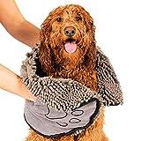 Shammy Trocknungstuch - Hundehandtuch braun - 79 x 33 cm