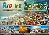 Rio de Janeiro, Olympische Spiele 2016 im brasilianischen Hexenkessel (Wandkalender 2019 DIN A3 quer): Eine Reise in die Stadt der vielen Gesichter, ... (Monatskalender, 14 Seiten ) (CALVENDO Orte)