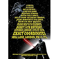 Amazoncouk Star Wars Invitations Party Supplies Toys Games