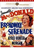 Broadway Serenade / (Full Rmst Mono) [DVD] [Region 1] [NTSC] [US Import]