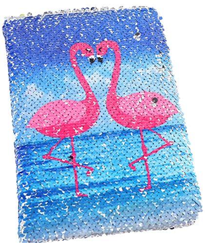 eue A5 Notizbuch Farbe Pailletten Einhorn Tagebuch, 78 Seite DIY Persönliches Tagebuch Notizbuch, für Party Geschenke und Schulbedarf (21x14.5CM / 8.3x 5.7 IN) (Colour-3) ()