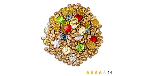 Brynnberg Grande Set Decorativo Diamanti Colorati Cristalli Monete doro finte