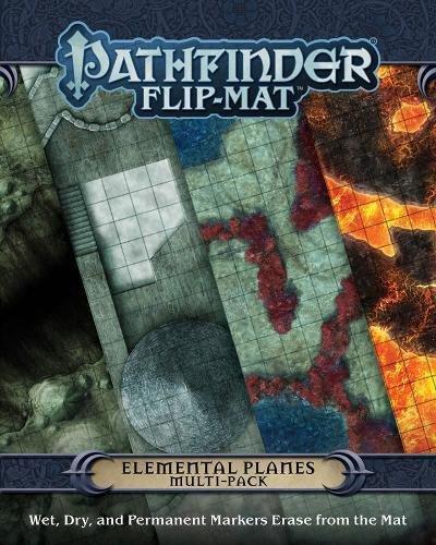 Pathfinder Flip-Mat: Elemental Planes Multi-Pack por Jason Engle