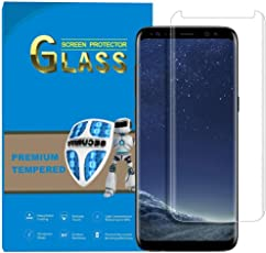 Laifeo Samsung Galaxy S8 Full Cover Panzerglasfolie Folie Panzerglas 3D 9h Curved in Transparent (Transparent)