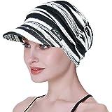 FocusCare Sombreros Suaves para Mujeres Chemo Gorra de béisbol de bambú Turbantes de pérdida de Cabello