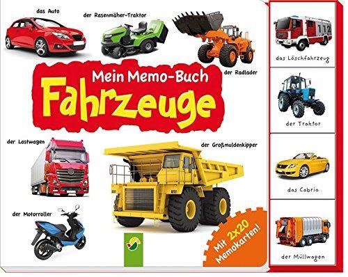 Mein Memo-Buch Fahrzeuge: Mit 2 x 20 Memo-Karten!