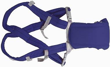PrettyKrafts Baby Carrier - Kangaroo Bag - Comfortable Easy Belt Slingo Baby Bag - Small Size - Blue