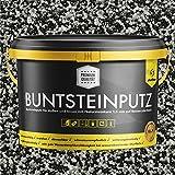 Buntsteinputz schwarz/grau/weiss 20kg