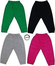 Chirsh Baby Cotton Pajamas/Lowers/Track Pants (Pack of 4)