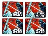 4 Stück Disney Star Wars Waschlappen 40 x 31cm