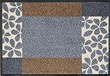Wash&Dry 64541 Fußmatte Florita, 40 x 60 cm, grau