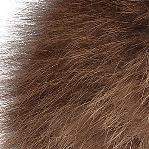 Bellefur Women Genuine Fox Fur Russian Trapper Hat Cap