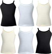 BODYCARE Solid Girls Slip Pack of 6 from