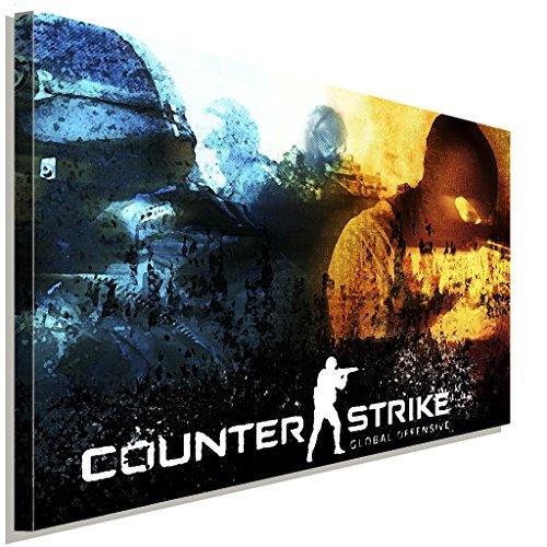 Counter-Strike-Global-Offensive-Leinwandbild-LaraArt-Studio-Wanddeko-Wandbild