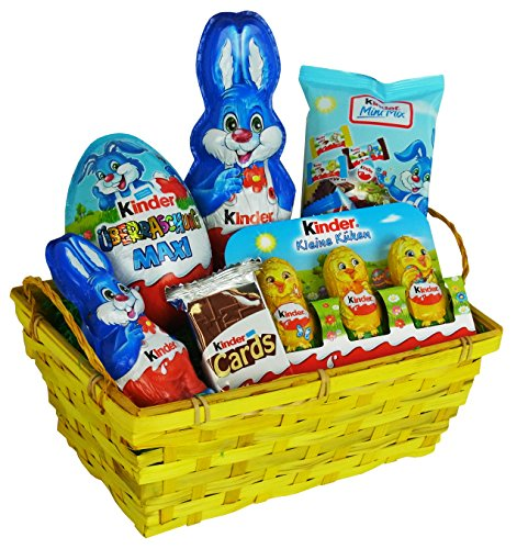 Easter Hamper with Kinder Chocolate Easter Specialities (6 parts)