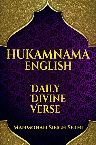 HUKAMNAMA ENGLISH: SIKHISM: Daily Divine Verse (English Edition) por Manmohan Singh Sethi