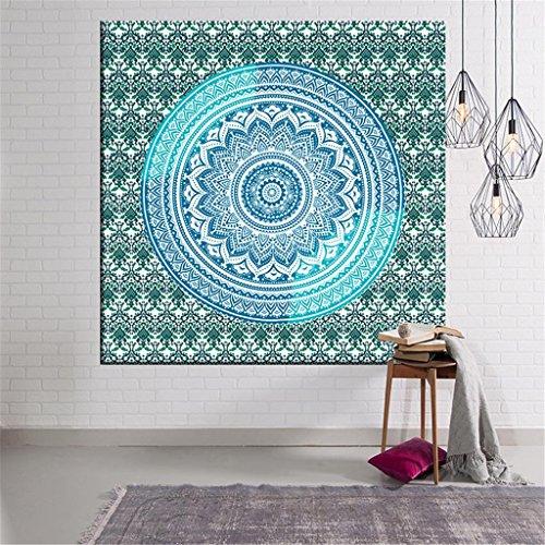 Wandteppiche 3D indischen Kompass Tapisserie / Teppich / Strand Handtuch Square Series-Stoff Wand Tapisserie Home Decor , E , 150*130cm
