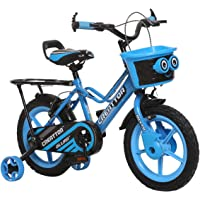 Ollmii Bikes 14 Inches Blue Kids Cycle for 3 to 5 Years