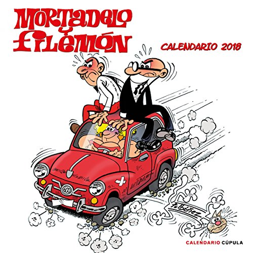 Mortadelo y Filemón. Calendario 2018 (Calendarios y agendas)