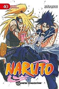 Naruto nº 40/72 par Masashi Kishimoto