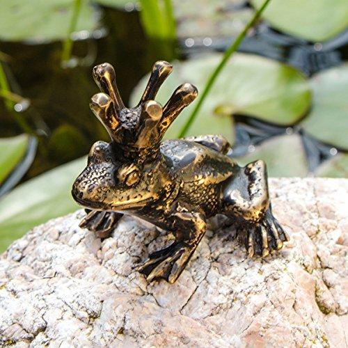 Gärtner Pötschke Bronze-Figur Froschkönig Heinrich