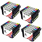 Toner Kingdom 20er Pack kompatibel zu Epson 18XL T1811T1812T1813T1814T1816 Tintenpatronen Druckerpatronen für Epson Expression Home XP-30 XP-102 XP-202 XP-205 XP-212 XP-215 XP-225 XP-302 XP-305 XP-312 XP-315 XP-322 XP-325 XP-402 XP-405 XP-405WH XP-415 XP-412 XP-422 XP-425