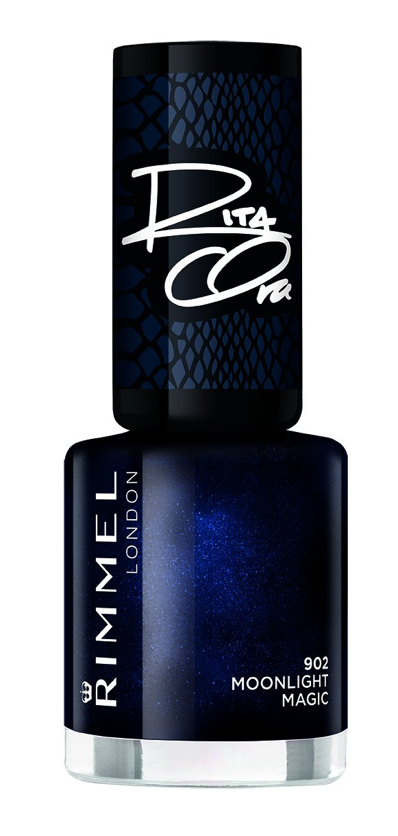 Rimmel Nail Polish 60 Seconds Super Shine By Rita Ora 902 Moonlight Magic Lakier do paznokci 8ml EOL