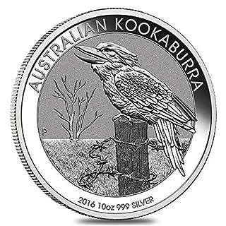 The Australian Kookaburra 2016 10 OZ (311 gr.) Silber 999 Silver Coin CAPSULA Moneta Perth Mint