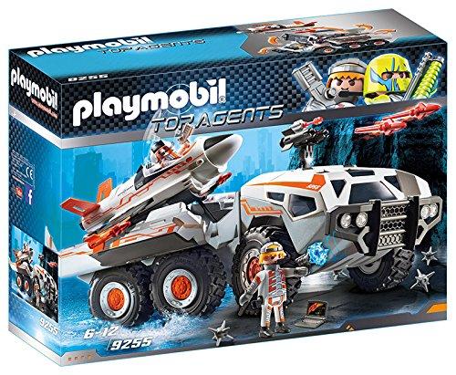 Playmobil - Camion et Navette de la Spy Team, 9255