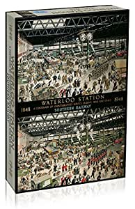 Waterloo Station 1848-1948 - Gibsons Jigsaw Puzzle - 1000 pieces