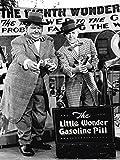 Artland Wandbilder selbstklebend aus Vliesstoff oder Vinyl-Folie Filmszene Dick und Doof und die Wunderpille, 1943 Film & TV Stars Fotografie Schwarz/Weiß C4YF