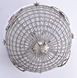 Deckenleuchte Rokoko Lampe Deckenlüster Barock Leuchte Lüster M Palazzo Exclusiv -