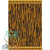 Toalla de playa tigre de 90x170 barata alta calidad 100% algodón