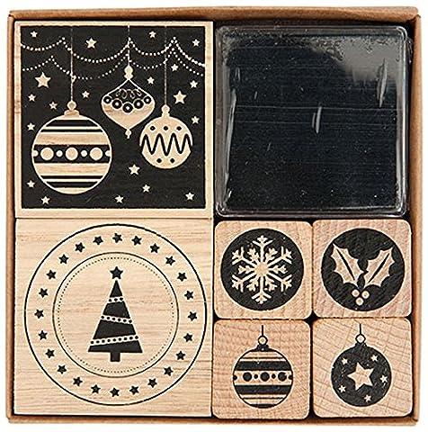 STEMPELSET MODERN CHRISTMAS
