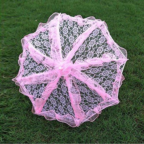 bpblgf H Hochzeit Sonnenschirm mit Spitze Lady Kostüm Zubehör Foto Prop, 5, 31* 52 (Regen Beweis Kostüm)