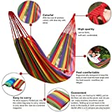 #10: Rudrransho Marketing Double Size Hammock Swing For 2 Persons-With Carry Pouch Included