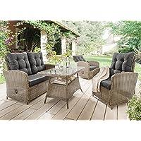 suchergebnis auf f r terrassenm bel rattan garten. Black Bedroom Furniture Sets. Home Design Ideas
