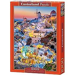Castorland - C-103522-2 - Puzzle - Sontorini dans Le Twilight - 1000 Pièces