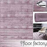 Alfombra Moderna Lounge rosa 120x170cm - Alfombra Vintage sedosa y noble