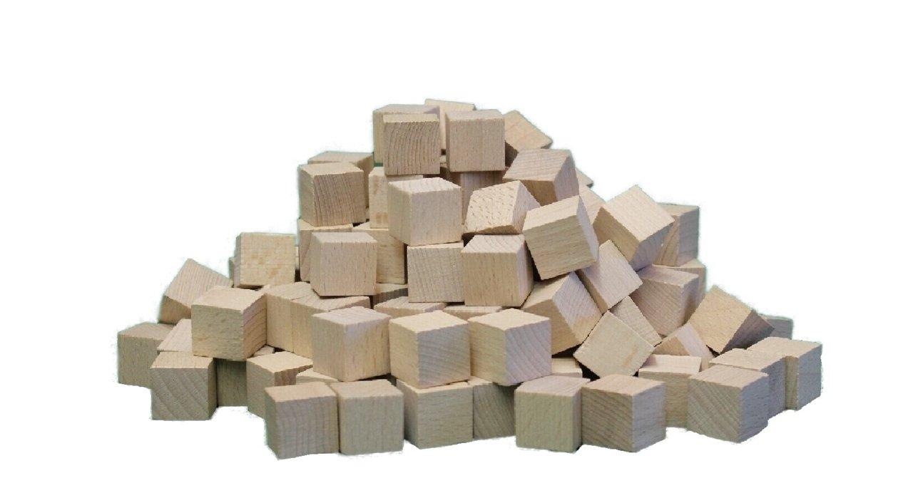 Würfel Buche 30 mm , 150 Stück NEU Holzwürfel Spielwürfel 12