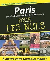 Paris Pour les Nuls par Danielle Chadych